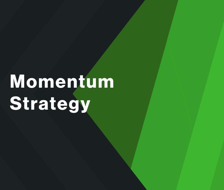 Momentum Strategy for WSDT