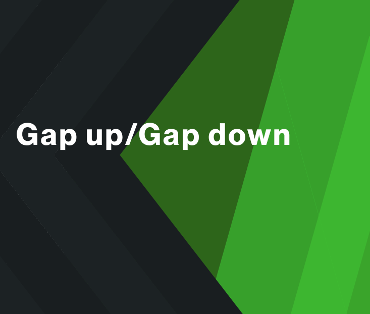 Gap up/Gap Down Strategy for WSDT