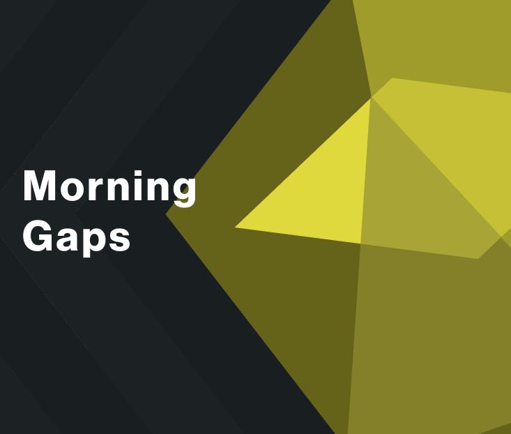 Day trading morning gaps